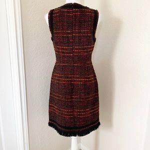 kate spade Dresses - Kate Spade Multi Tweed Sleeveless Dress NWT